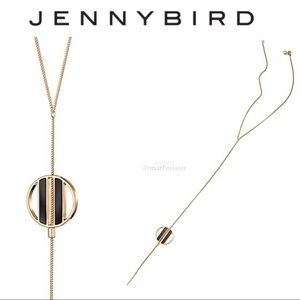 Jenny Bird Art Décor Rhine Lariat Necklace